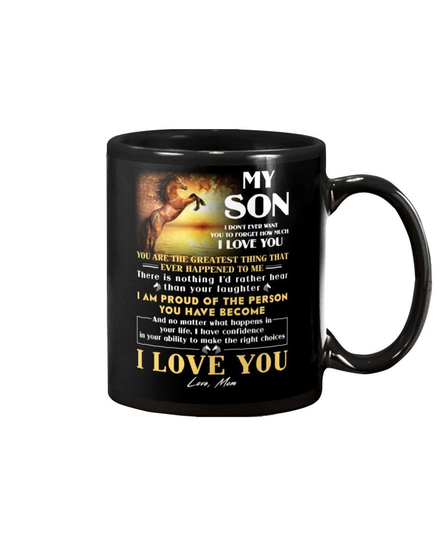 Horse Son Don't Forget I Love You Mug