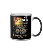 Horse Son Don't Forget I Love You Color Changing Mug thumbnail