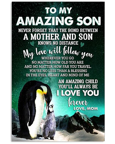 The Bond Between A Mother And Son Penguin