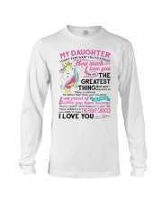 Unicorn Mom Daughter Don't Forget I Love You Long Sleeve Tee thumbnail