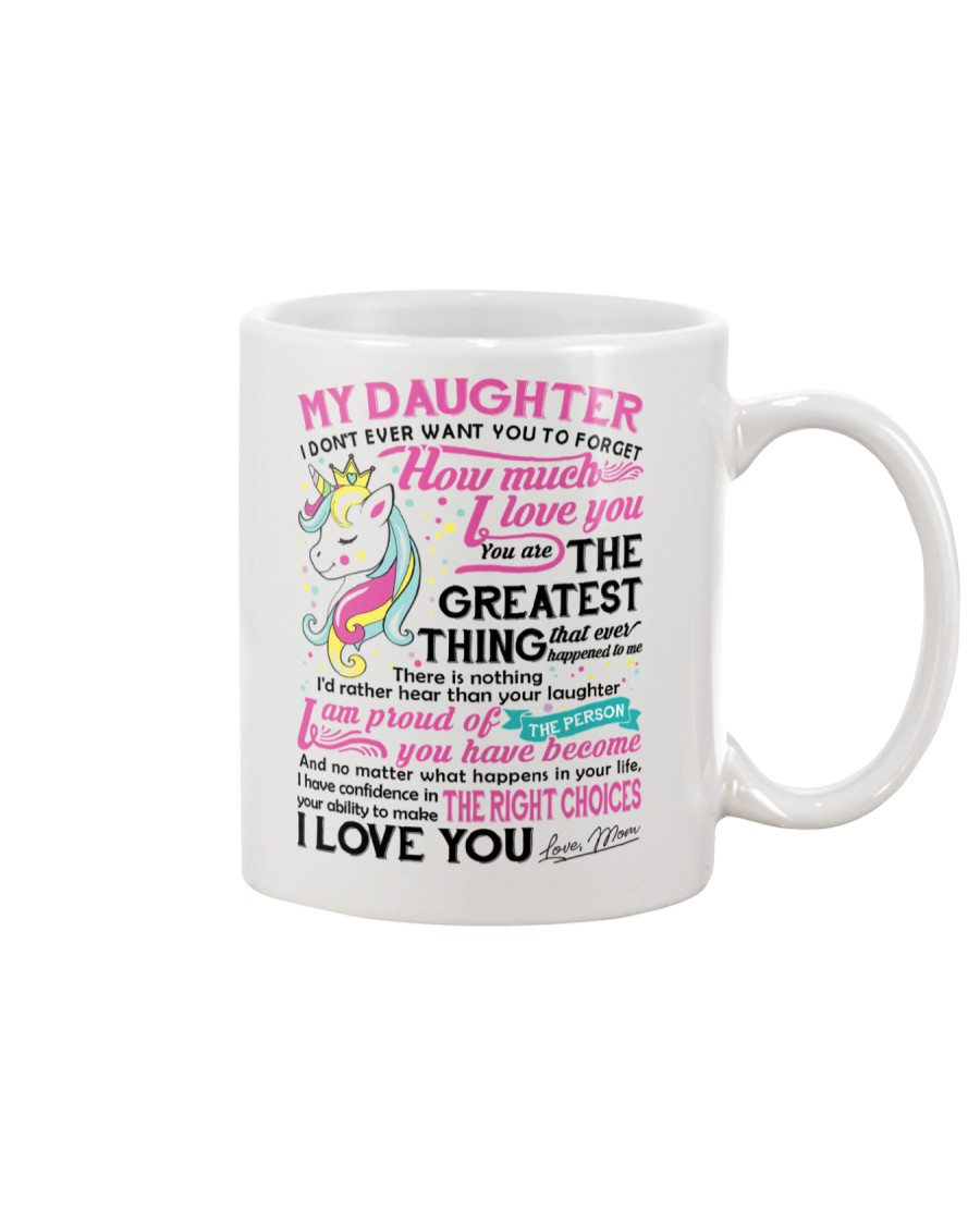 Unicorn Mom Daughter Don't Forget I Love You Mug