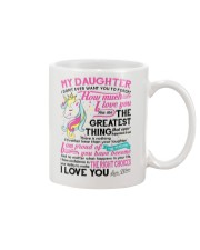 Unicorn Mom Daughter Don't Forget I Love You Mug front