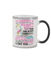 Unicorn Mom Daughter Don't Forget I Love You Color Changing Mug thumbnail