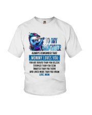 Otter Daughter Mom Mommy Loves You Youth T-Shirt thumbnail