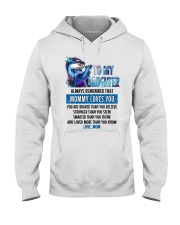 Otter Daughter Mom Mommy Loves You Hooded Sweatshirt thumbnail