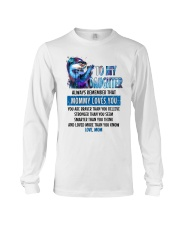 Otter Daughter Mom Mommy Loves You Long Sleeve Tee thumbnail