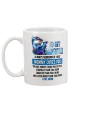 Otter Daughter Mom Mommy Loves You Mug back