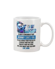 Otter Daughter Mom Mommy Loves You Mug front