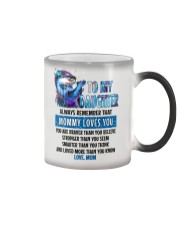 Otter Daughter Mom Mommy Loves You Color Changing Mug thumbnail