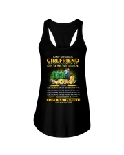 Farmer Girlfriend I Love You More Ladies Flowy Tank thumbnail