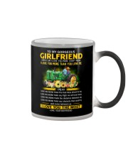 Farmer Girlfriend I Love You More Color Changing Mug thumbnail