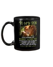 Horse Daughter Mom I Love You Mug back