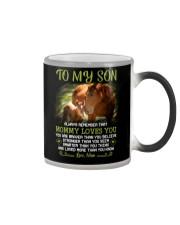 Horse Daughter Mom I Love You Color Changing Mug thumbnail