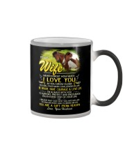 Horse Wife I'm Always With You Color Changing Mug tile