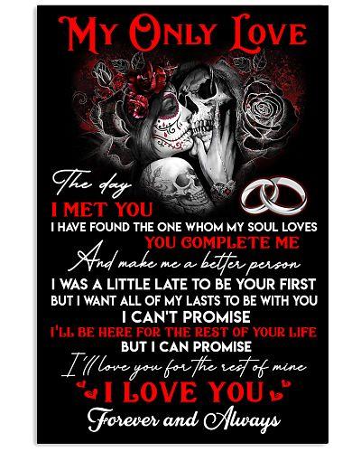 Skull Love For My Life Poster GG