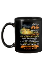 After All This Time I Still Love You Camping Mug back