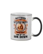 Son Up 'Til Son Down Mothers Of Little Boys Horse Color Changing Mug thumbnail