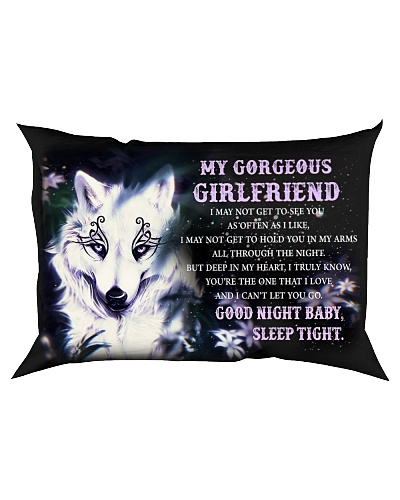 Wolf Girlfriend Good Night Baby Sleep Tight