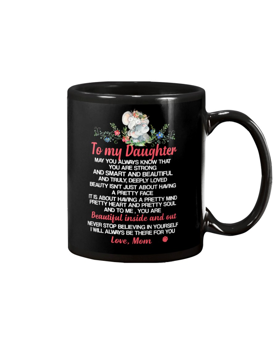 May You Always Know Elephant Daughter Mug