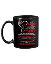 Firefighter Fiancee My Always And Forever Mug back
