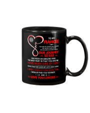 Firefighter Fiancee My Always And Forever Mug front