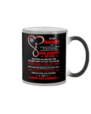 Firefighter Fiancee My Always And Forever Color Changing Mug thumbnail