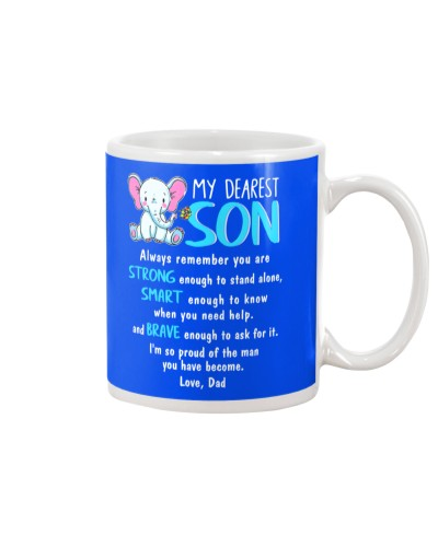 Autism Elephant Dad to Son Always Remember