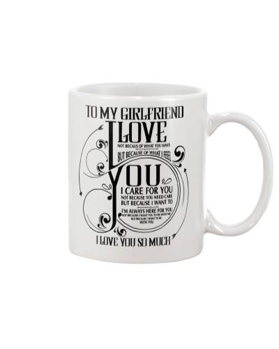 Family Girlfriend I'm Love You So Much Mug CC