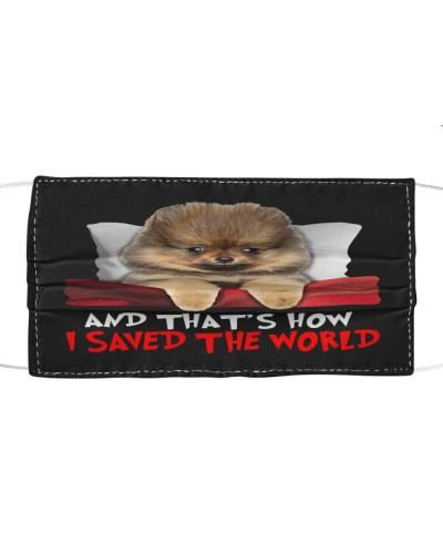 Dog Pomeranian How I Saved The World