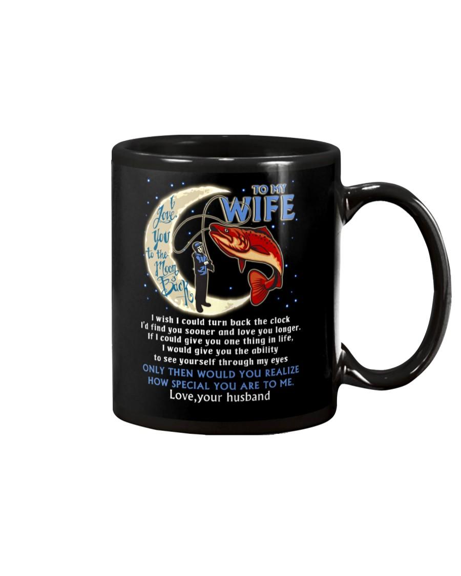 I Love You To The Moon And Back Fishing Mug