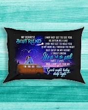Camping Boyfriend Good Night Honey Sleep Tight  Rectangular Pillowcase aos-pillow-rectangle-front-lifestyle-5