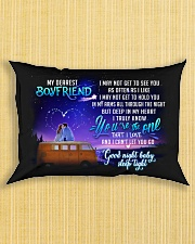 Camping Boyfriend Good Night Honey Sleep Tight  Rectangular Pillowcase aos-pillow-rectangle-front-lifestyle-6