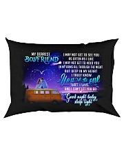 Camping Boyfriend Good Night Honey Sleep Tight  Rectangular Pillowcase back