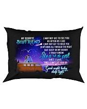 Camping Boyfriend Good Night Honey Sleep Tight  Rectangular Pillowcase front