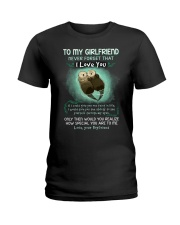 I Love You Ability See Yourself Otter Ladies T-Shirt thumbnail