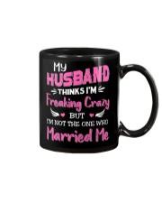 Wife Crazy Married Me Mug thumbnail