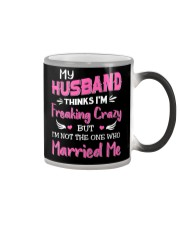 Wife Crazy Married Me Color Changing Mug thumbnail