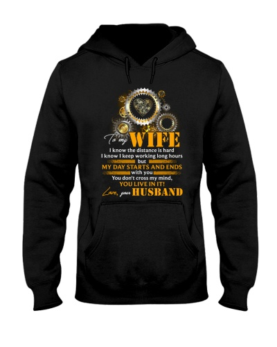 To My Wife I Know The Distance Is Hard Mechanic