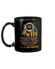 To My Wife I Know The Distance Is Hard Mechanic Mug back