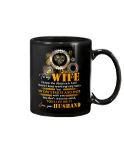 To My Wife I Know The Distance Is Hard Mechanic Mug front