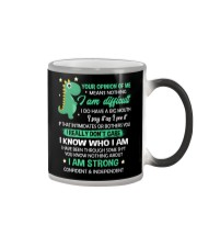 Your Opinion Of Me Means Nothing Dinosaur  Color Changing Mug thumbnail