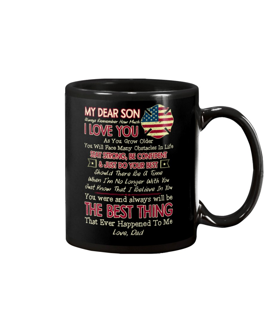 Firefighter Son Dad The Best Thing Mug