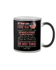 Firefighter Son Dad The Best Thing Color Changing Mug thumbnail