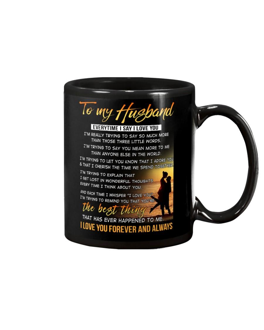 Husband Everytime I say I love you Mug