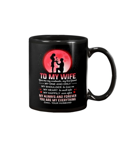 Family Wife Shoulder To Lean On Mug CC
