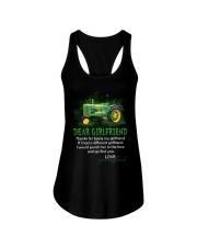 Thanks For Being My Girlfriend Tractor Ladies Flowy Tank thumbnail