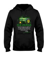 Thanks For Being My Girlfriend Tractor Hooded Sweatshirt thumbnail