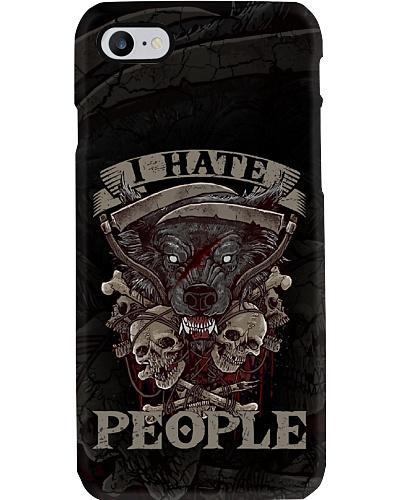 I Hate People Wolf