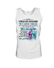 To My Wife I Love You For All That You Are Owl Unisex Tank thumbnail