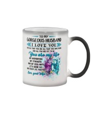 To My Wife I Love You For All That You Are Owl Color Changing Mug thumbnail